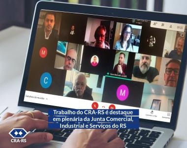 Trabalho do CRA-RS é destaque em plenária da Junta Comercial, Industrial e Serviços do RS