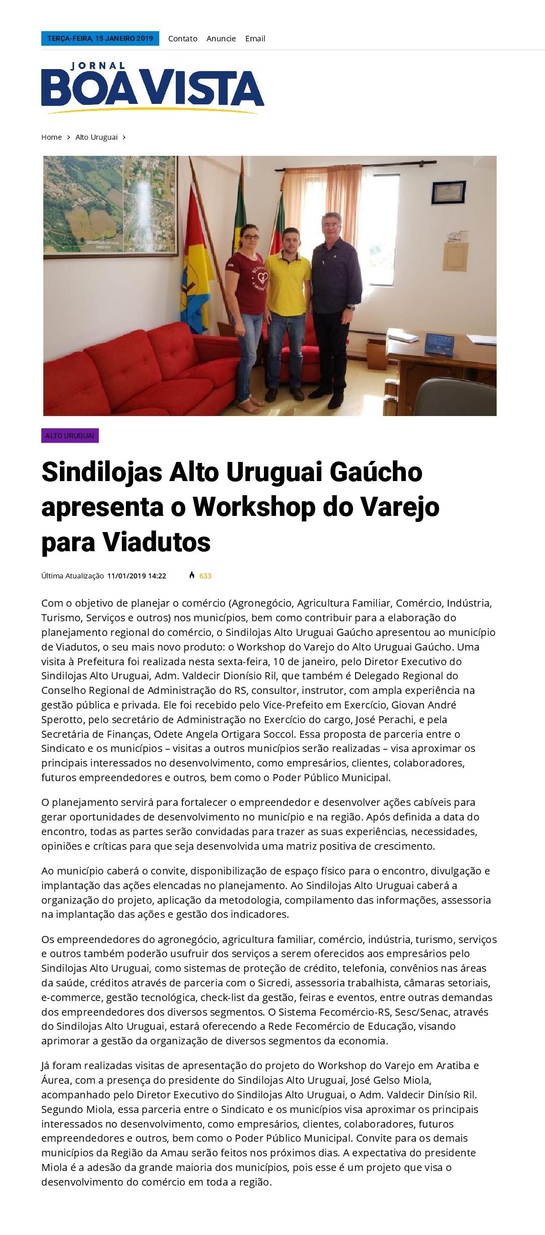 Workshop do Varejo para Viadutos