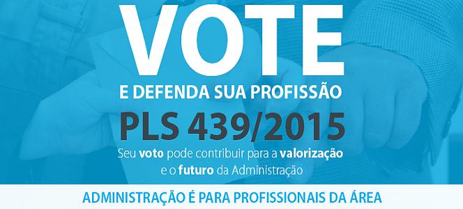 VOTE SIM PELO PLS 439/2015