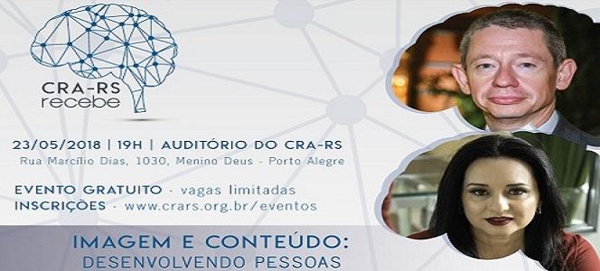 Desenvolvimento de pessoas é o tema do próximo CRA-RS Recebe de maio
