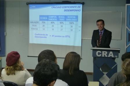CRA Recebe discute Meritocracia e Competências