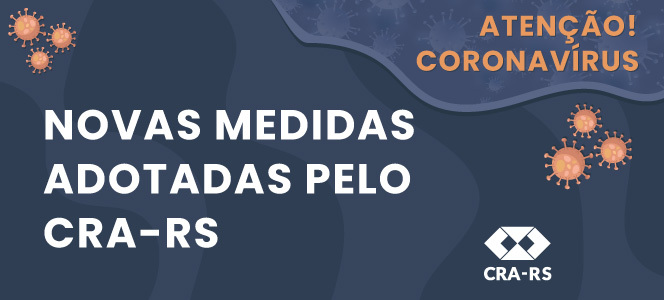 CRA-RS atua em home office devido à pandemia do Covid-19