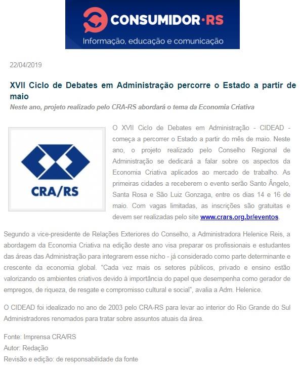XVII CIDEAD
