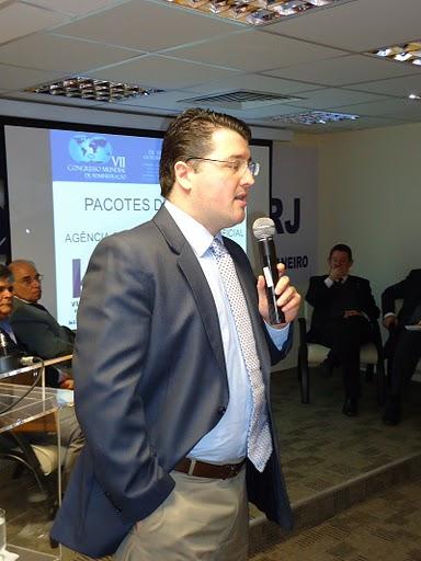 Lançamento do Mundial de Administração e FIA no Rio de Janeiro
