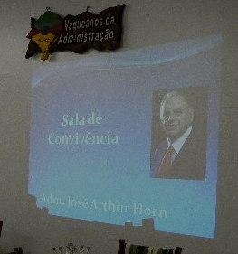 Inauguração Sala de Convivência do CRA-RS - José Arthur Horn