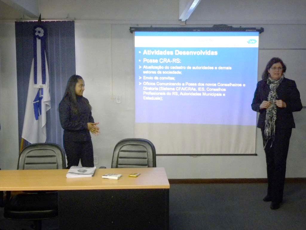 Setores do CRA-RS apresentam ações do primeiro semestre de 2011