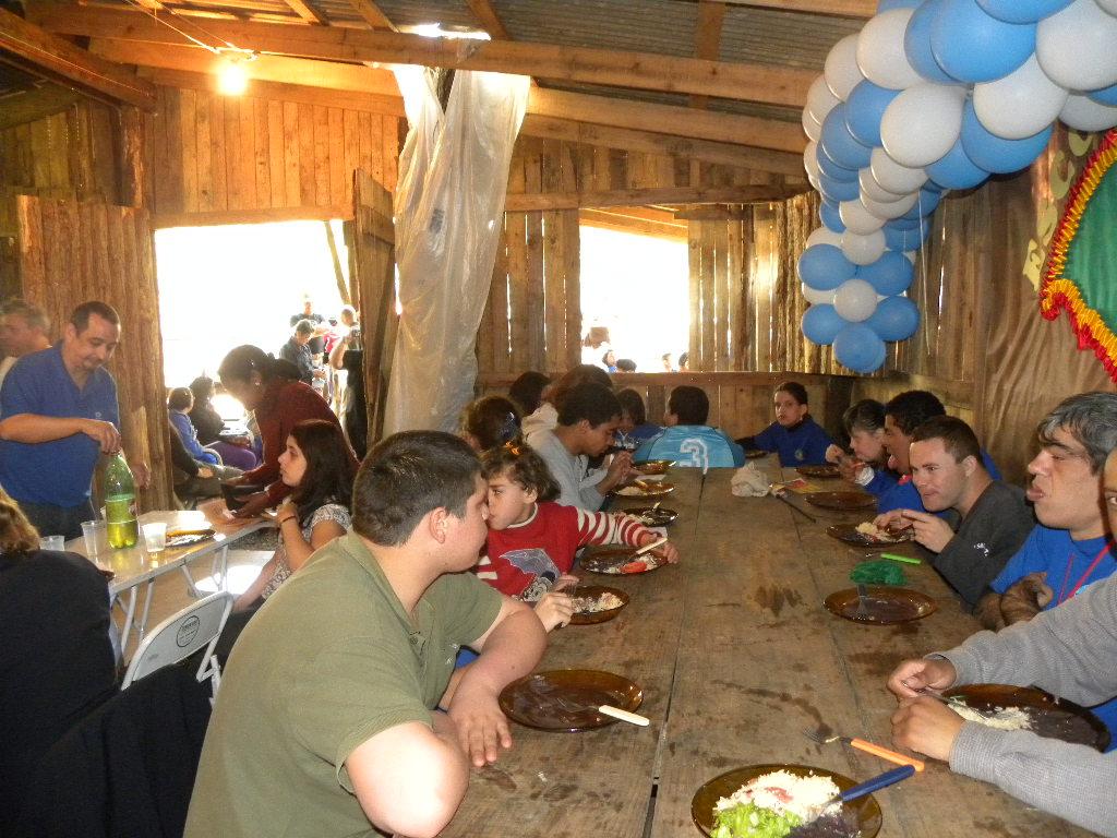 CRA-RS promove ação de confraternização no Acampamento Farroupilha