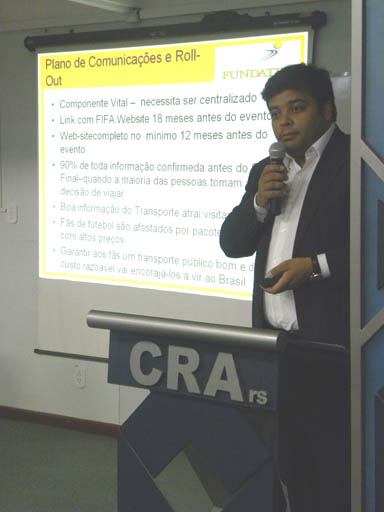 Mobilidade Urbana é tema do CRA Recebe