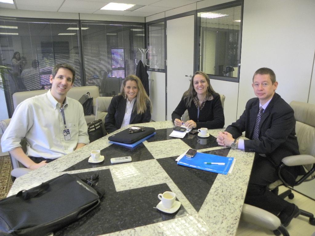 Reunião com FEJERS - Federação das Empresas Júnior do RS
