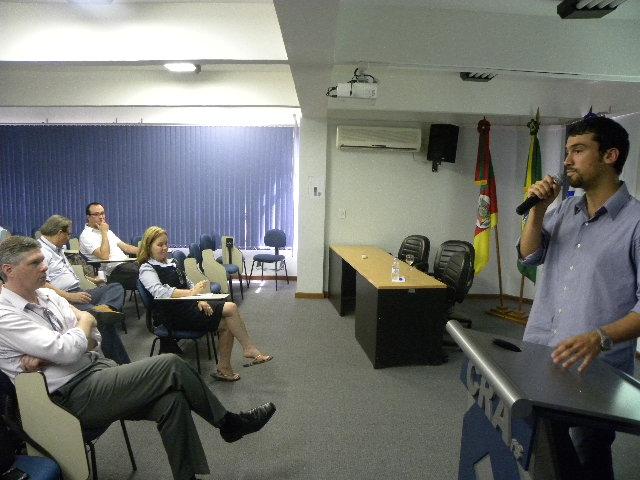 Apresentação do case da AES Sul sobre gestão ambiental