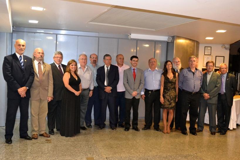 Diretoria eleita para o triênio 2012/2015 do SINDAERGS