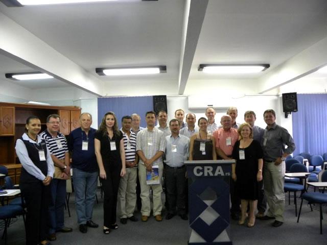 Delegados do CRA-RS realizam reunião em Porto Alegre