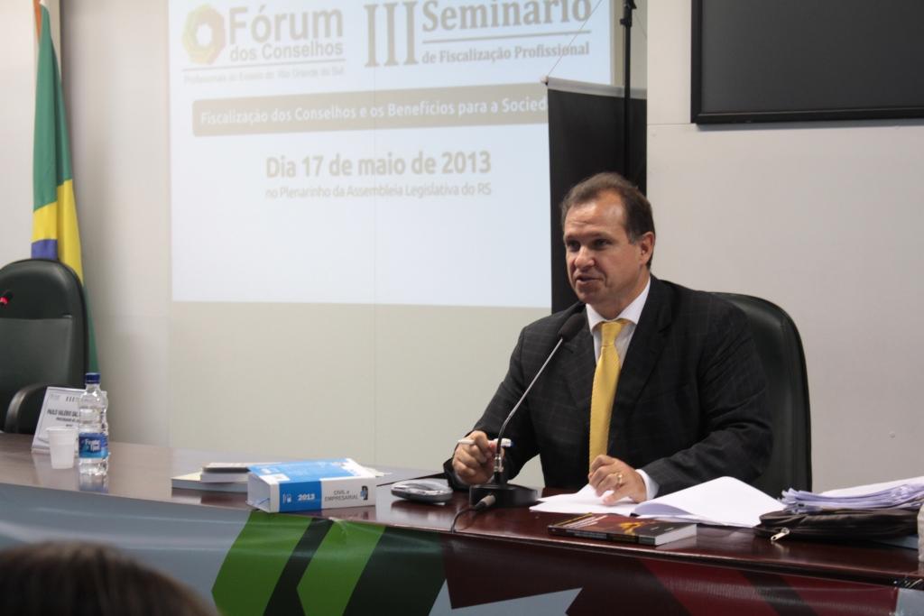 III Seminário de Fiscalização Profissional