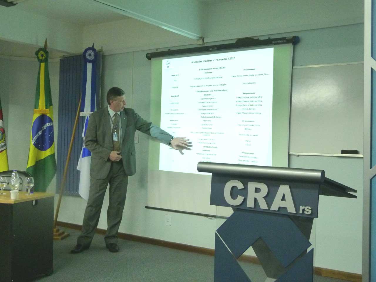 CRA-RS promove encontro de suas Câmaras
