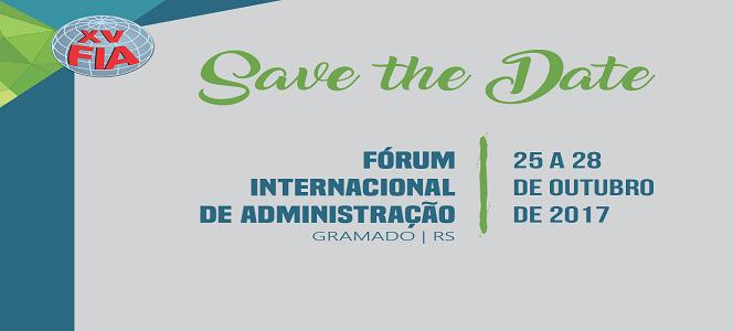 XV FIA: Principal evento de Administração do Brasil