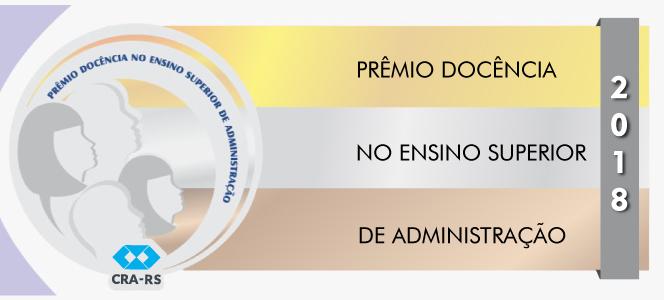 Prêmio Docência 2018 recebe inscrições