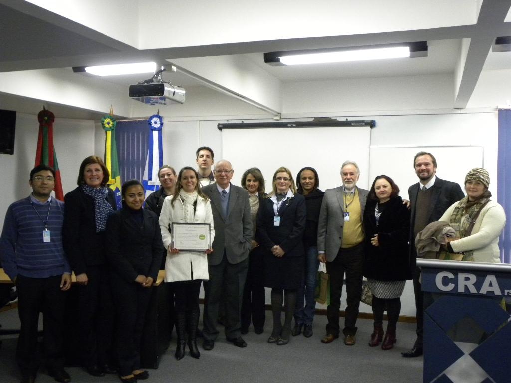 Entrega do Certificado de Adesão ao Programa Carbono Neutro