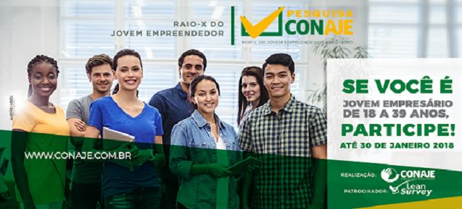 Participe: pesquisa perfil do Jovem Empreendedor brasileiro