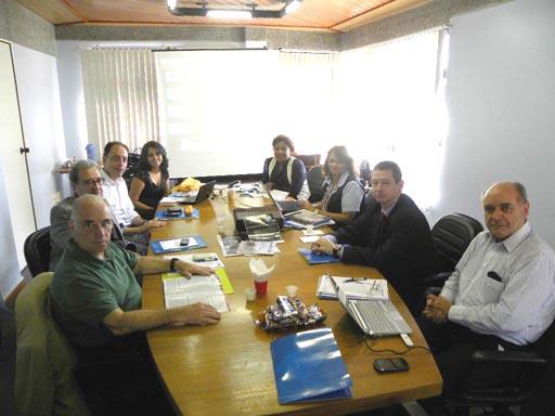 Reunião de Organização do Enbra e Congresso Mundial
