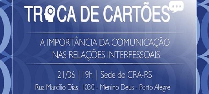 Agende-se: próximo Troca de Cartões acontece dia 21 de junho
